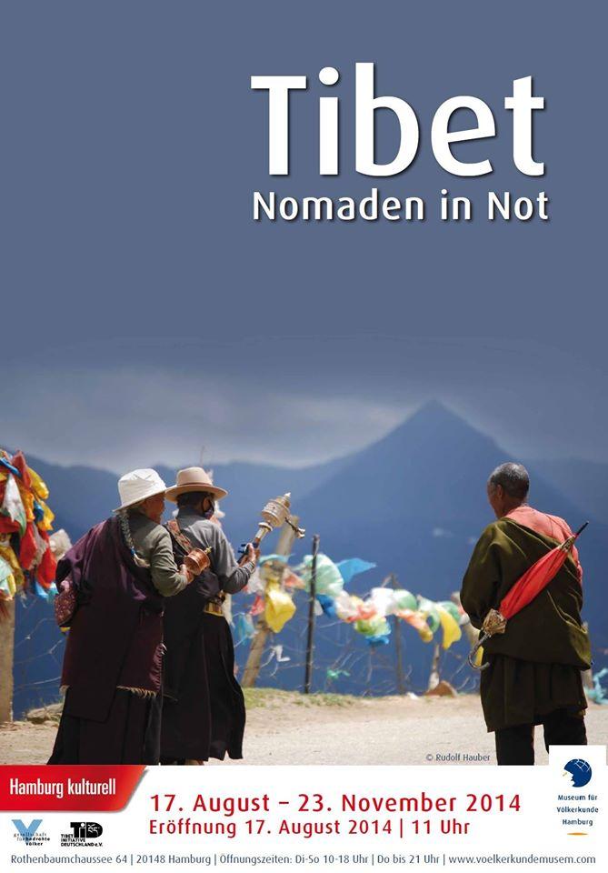 Plakat zur Tibetausstellung